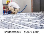 pipe fitter mounted underfloor...