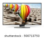 sd  hd  full hd and 4k... | Shutterstock . vector #500713753