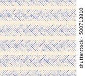 ethnic boho seamless pattern.... | Shutterstock .eps vector #500713810