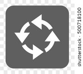 recycle interface toolbar... | Shutterstock .eps vector #500718100