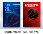 basketball tournament  modern... | Shutterstock .eps vector #500731498
