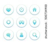 basic web icons set  favourite  ...
