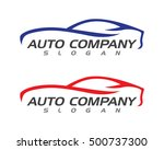 auto car logo template | Shutterstock .eps vector #500737300