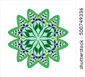 colorful hexagonal pattern....   Shutterstock .eps vector #500749336