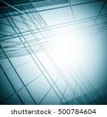 panoramic and perspective wide... | Shutterstock . vector #500784604