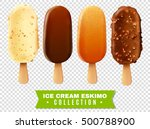 ice cream collection of eskimo... | Shutterstock .eps vector #500788900