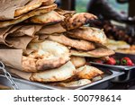 lavash  bakery products fresh... | Shutterstock . vector #500798614