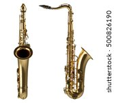 classical alto saxophone...   Shutterstock . vector #500826190