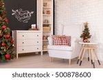 light living room with...   Shutterstock . vector #500878600