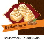 badambura   this is a national... | Shutterstock .eps vector #500888686