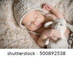 new born baby | Shutterstock . vector #500892538