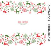 merry christmas holiday...   Shutterstock .eps vector #500896240