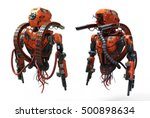 detailed realistic robot... | Shutterstock . vector #500898634