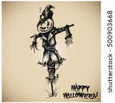 halloween vector collection.... | Shutterstock .eps vector #500903668