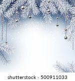 silver background with... | Shutterstock .eps vector #500911033