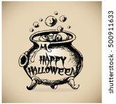 halloween vector collection... | Shutterstock .eps vector #500911633