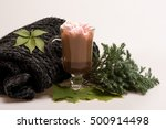 marshmallow with hot chockolate ... | Shutterstock . vector #500914498