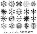 abstract vector black... | Shutterstock .eps vector #500915170