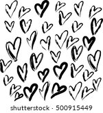 love vector pattern | Shutterstock .eps vector #500915449
