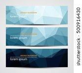web banner  header layout... | Shutterstock .eps vector #500916430