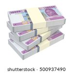 central african cfa francs... | Shutterstock . vector #500937490