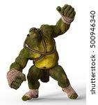 Ogre 3d Illustration