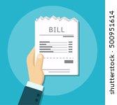 pay bill flat design
