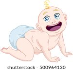 vector illustration of a cute... | Shutterstock .eps vector #500964130