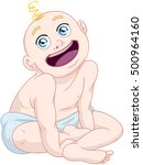 vector illustration of a cute... | Shutterstock .eps vector #500964160