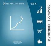 graph icon vector | Shutterstock .eps vector #500969080