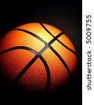 basketball with a dark... | Shutterstock . vector #5009755