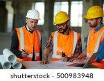 discussing sketch | Shutterstock . vector #500983948