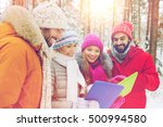 technology  season  friendship... | Shutterstock . vector #500994580