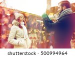holidays  winter  christmas ... | Shutterstock . vector #500994964