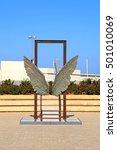 Wings Sculpture In Tel Aviv ...