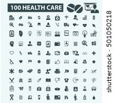 health care icons | Shutterstock .eps vector #501050218