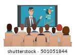 corporation directors board at... | Shutterstock .eps vector #501051844