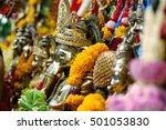 Small photo of Gnash's statue Revered in Hinduism/ Uma Devi Temple Silom Rd., Bangkok, Thailand