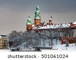 Wawel Cathedral Towers In...