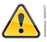 hazard warning attention sign... | Shutterstock .eps vector #50107477