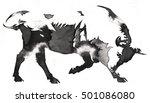 black and white monochrome...   Shutterstock . vector #501086080