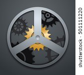 settings icon with different...   Shutterstock .eps vector #501111220