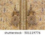 callers of a bronze door...   Shutterstock . vector #501119776