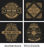 labels set. vector | Shutterstock .eps vector #501131626