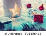 Snowy Vintage Xmas Decoration...