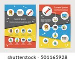 energy icons set with long... | Shutterstock .eps vector #501165928