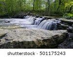 sawmill creek spills over a...