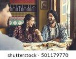 indian ethnicity meal food ... | Shutterstock . vector #501179770