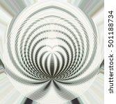 an abstract circular pattern. | Shutterstock . vector #501188734