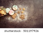 Spilled Homemade Cookies From...